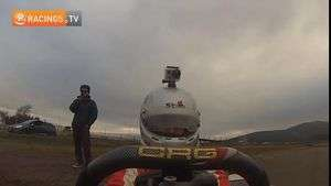 GoPro Hero3+ • On board Pedro Devaud probando su karting